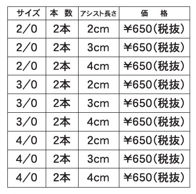 ライトジギング スロージギング 価格