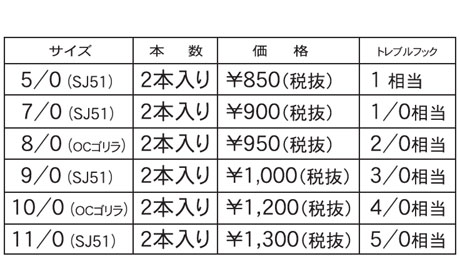 PLUGHOOK PRICE プラグフック価格